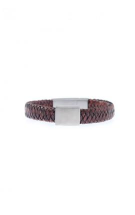 OXXO Design Herre armbånd i brunt læder