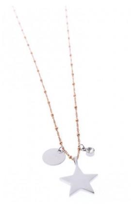 OXXO Design Lang halskæde med vedhæng