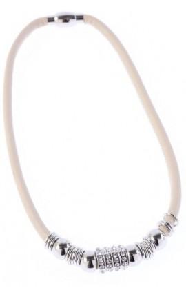 OXXO Design Halskæde i læder 830NG