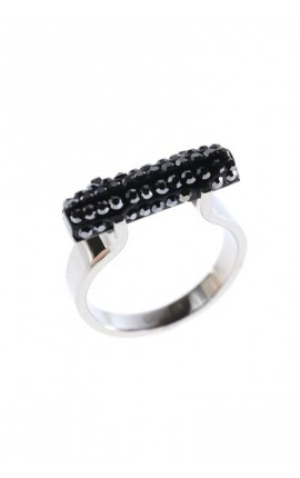 OXXO Design Ring med simili sten 804RB