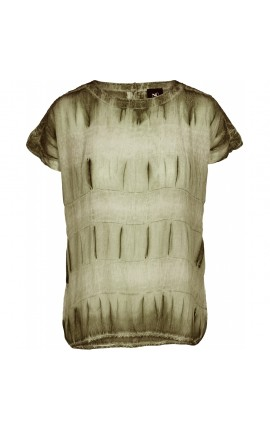 NÜ Caren T-Shirt - Green Ochre