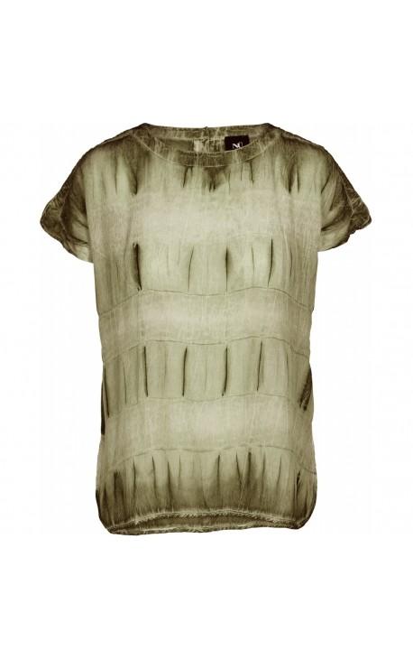 NÜ Caren T-Shirt - Green Ochre