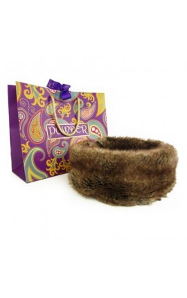 Powder Headband Soft Brown
