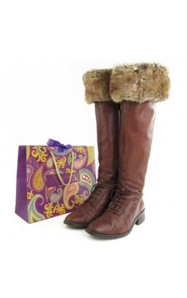 Powder Boot Toppers Soft Brown