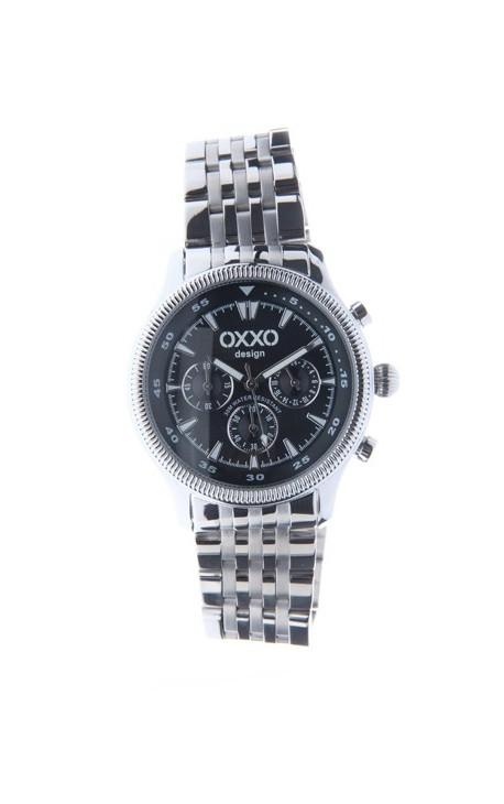 OXXO Design Herre Ur - Sort
