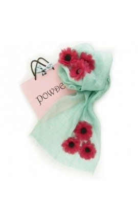 Powder Design Poppy in Linen - Mint
